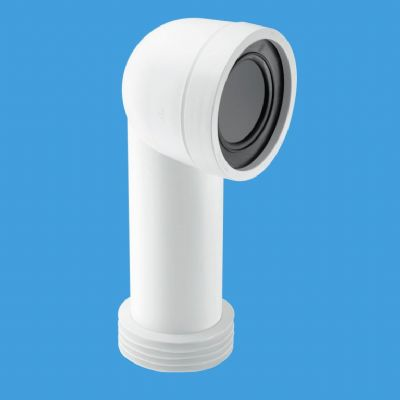 McAlpine 90 Degree Bent Toilet Pan Connector